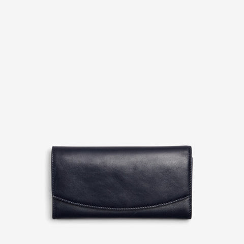 Continental Leather Flap Wallet