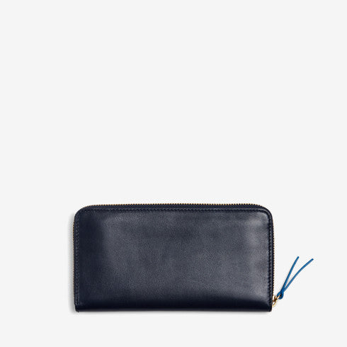 Continental Leather Zip Wallet