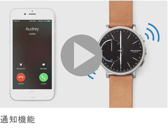 SKAGEN Hybrid Smartwatch | Receive Smartphone Notifications