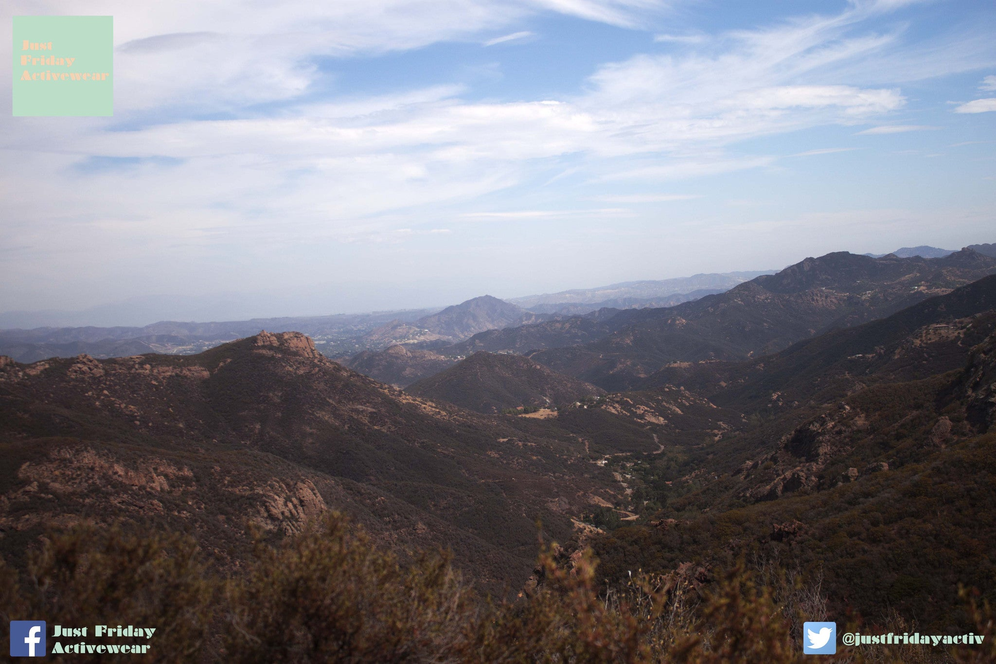 Hike On Sandstone Peak