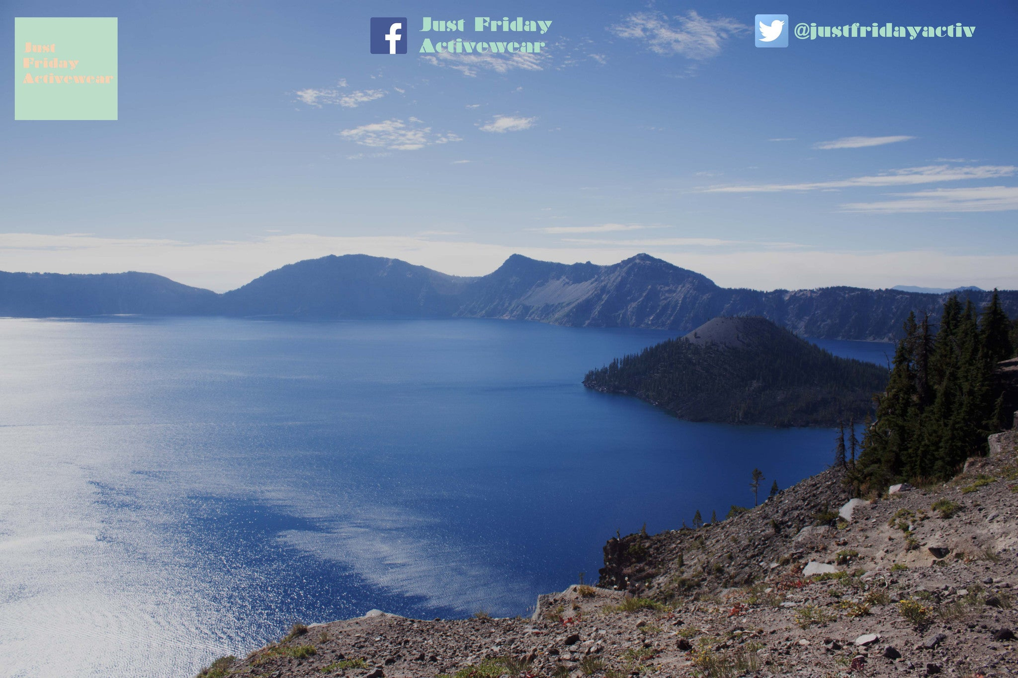Hike on Crater Lake