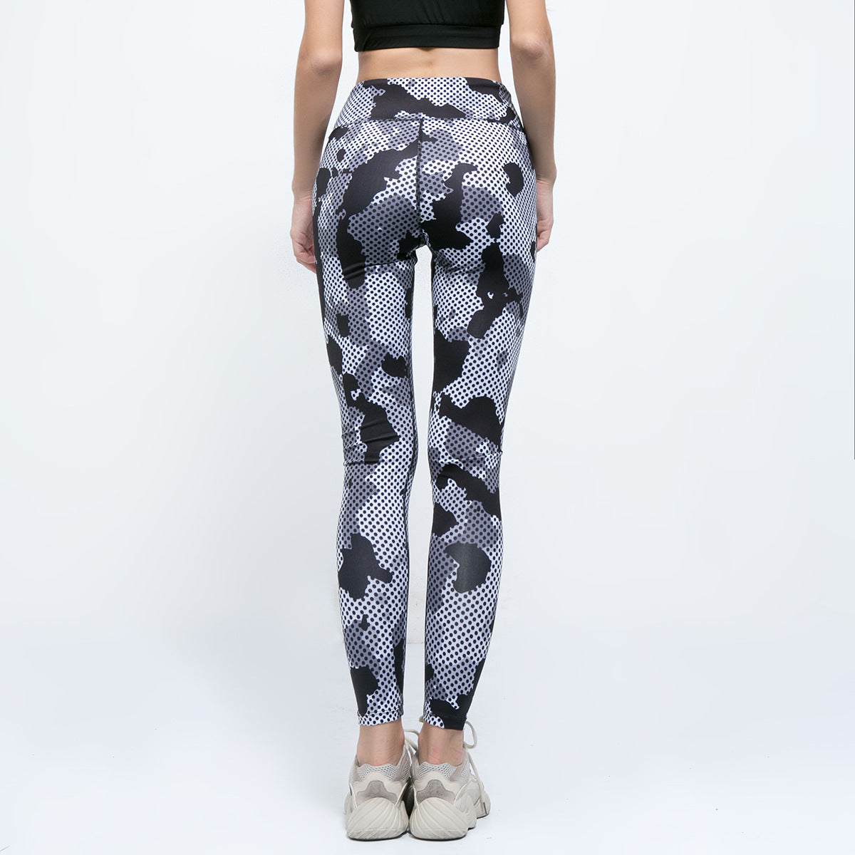 Sexy Camouflage Prints Gym Wear Work Out Sportswear Yoga Pants Legging
