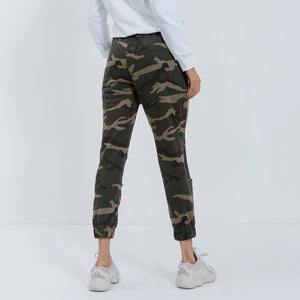Sexy Camouflage Gym Wear Work Out Sportswear Cut Out Yoga Pants Legging