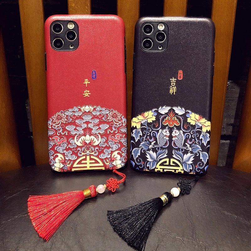 Cute Hard Cover Chinese New Year Style iPhone Case