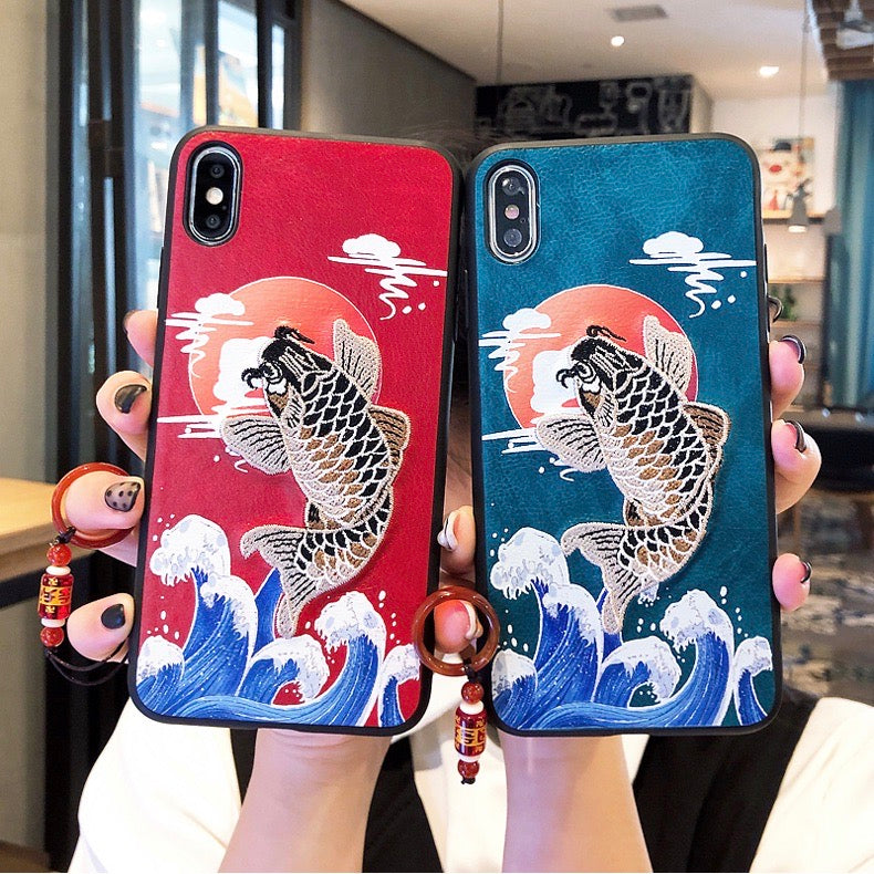 Cute Chinese New Year Style PC Cover iPhone Case