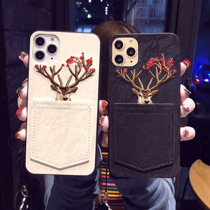 Sexy Cute Reindeer Detailing  iPhone Case
