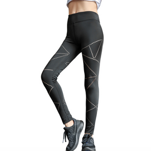 Sexy Mesh Detailing Gym Wear Work Out Sports Legging Yoga Pants