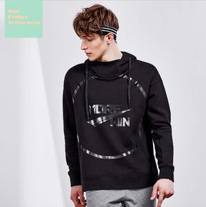 Comfy Casual Two Tone Black Long Sleeves Character Prints Hoodie