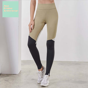 Sexy Two Tone Sports Work Out Gym Yoga Pants Legging