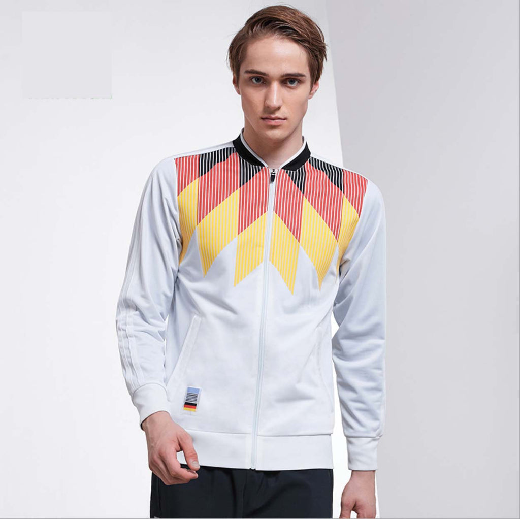 Comfy Two Tone Stand Collar Long Sleeves Sportswear