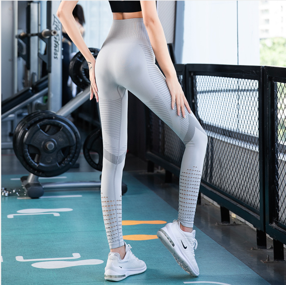 Sexy Mesh Detailing Comfy Work Out Gym Sports Legging Yoga Pants