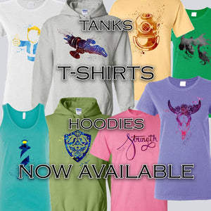 T-Shirts and Tanks and Hoodies. Oh My!