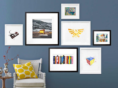 . Home Decor  Gallery Walls   Amourable Art