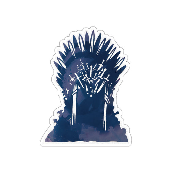 Iron Throne Sticker