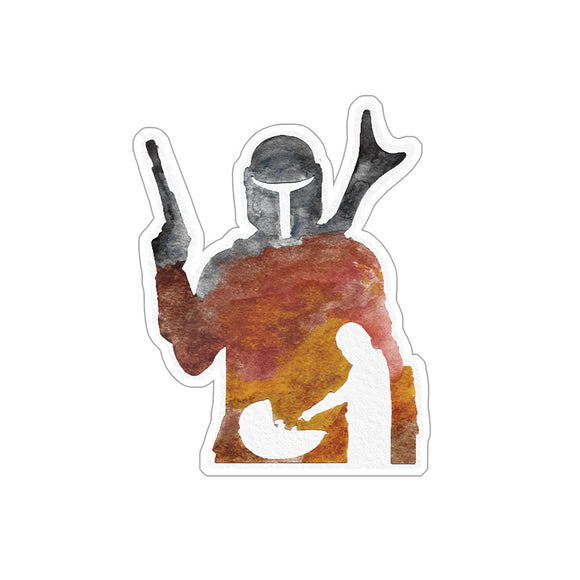 Mando Sticker