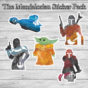 The Mandalorian Sticker Pack