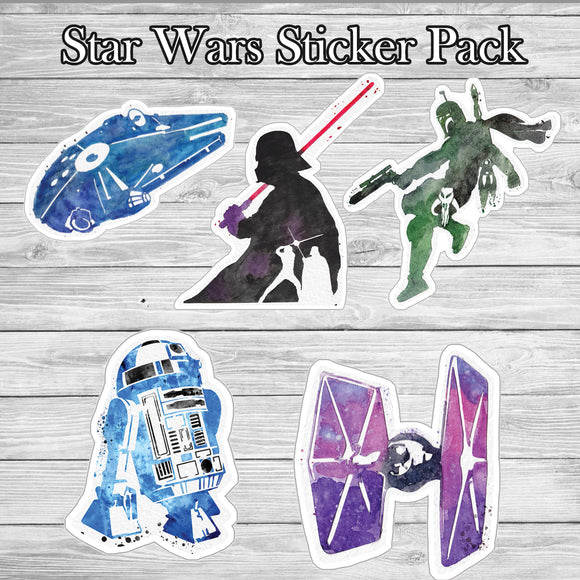 Star Wars Sticker Pack