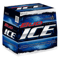 Bud Ice 12PK bottles