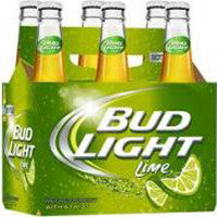 Bud Light Lime 6PK bottles