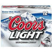 Coors Light 12pk bottles