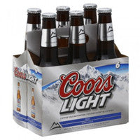 Coors Light 6pk bottless