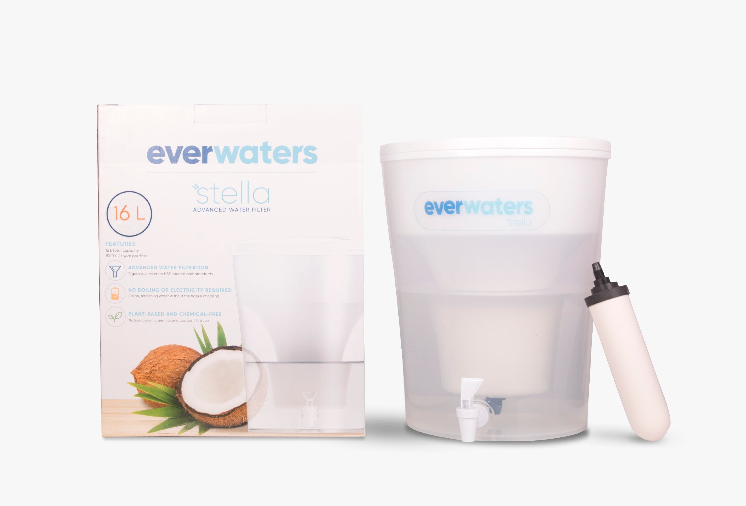 Everwaters Stella Water Filter