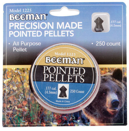 Beeman 1225 Pointed .177 Pellet Lead 250