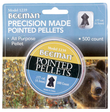 Beeman 1239 Pointed Pellets .177 500