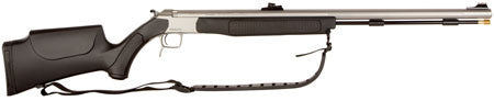 "CVA PR3110S Break Open 50 Black Powder 27.0"" DuraSight All Metal Fiber Optic Blk Synthetic Stk"