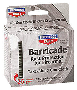 "Birchwood Casey 33025 Barricade Take Along Wipes Gun 5"" x 8"""