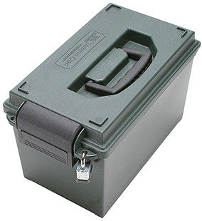 MTM AC11 Can Ammo Box Portable 750 cu. in. 25 lbs Polypropylene Forest Green