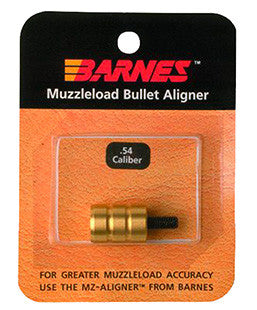 Barnes 30708 Muzzleloader Alignment Tool .54 Cal Brass