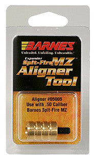 Barnes Bullets 30678 Muzzleloader Alignment Tool 50 Brass   1
