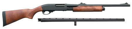 "Remington Firearms 81293 870 Express Combo Pump 12 Gauge 28""/18.5"" Wood Laminate Stock Blued"