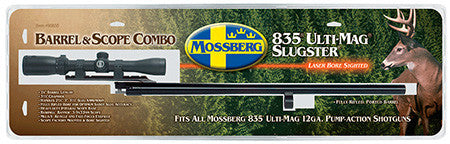 "Mossberg 90835 835 12 Gauge 24"" Blued Scope Base with Scope"