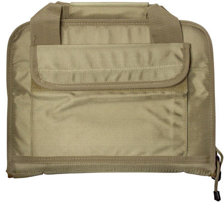 "Aim Sports  Discreet Pistol Bag Polyester 13.6"" L Tan"