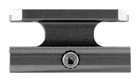 Aim Sports  1-Piece Base For AimPoint Accessory Rail Style Black Hard Coat Anodized Finish