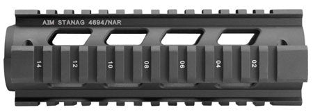 Aim Sports MT041 Stanag AR-15/M16/M4 Aluminum/Aircraft Grade Black/Anodized