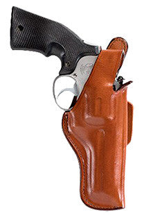 "Bianchi 10309 5 Thumbsnap  4"" Barrel Colt Anaconda; S&W Leather Tan"