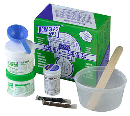 Brownells 20100 Acraglas Gel Kit 4 oz