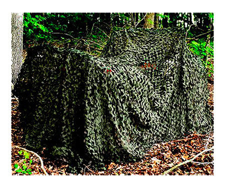 Camo Unlimited MS02 Pro Camouflage Netting Wood