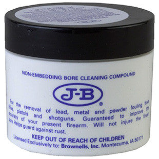 Brownells 083066012 J-B Bore Compound Bore Cleaner 2 oz Jar