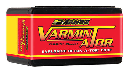 Barnes Bullets 30178 Rifle 22 Caliber .224 58 GR Flat Base Hollow Point 100 Box