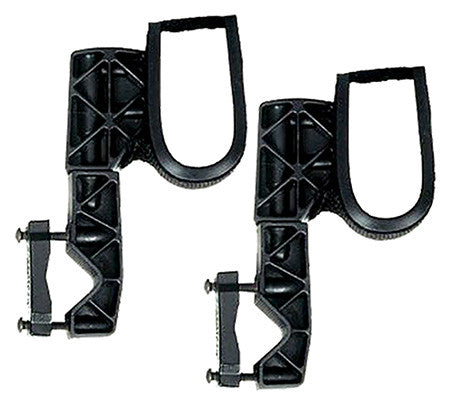 Rugged Gear ATV Gun Rack Black Glass-Filled Nylon Universal Single Hook