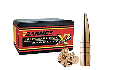 Barnes Bullets 30700 Rifle 50 BMG 50 Caliber .510 647 GR TSX BT 20 Box