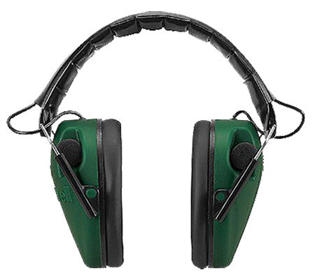 Caldwell 487-557 Low Profile Electronic Hearing Protection Muffs Black/Green