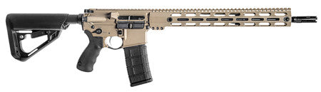 "BCI 510-0001FDE SQS15 Professional Series Semi-Automatic 300 AAC Blackout/Whisper (7.62x35mm) 16"" 30"