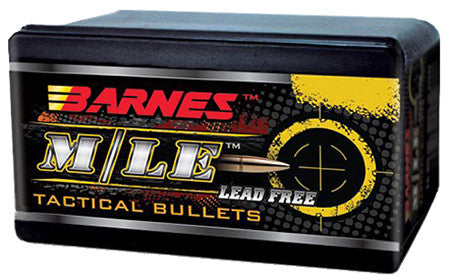 Barnes Bullets 30387 Tactical 7.62mm .310 123 GR TAC-X Boat Tail 50 Box