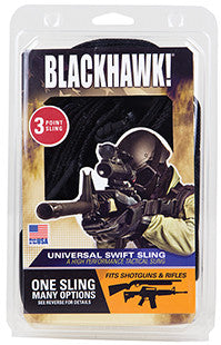 "Blackhawk 70GS17BK Universal 1.25"" Swivel Size Black"