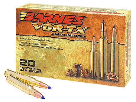 Barnes 21522 VOR-TX 243 Winchester 80GR Tipped TSX Boat Tail 20Box/10Case